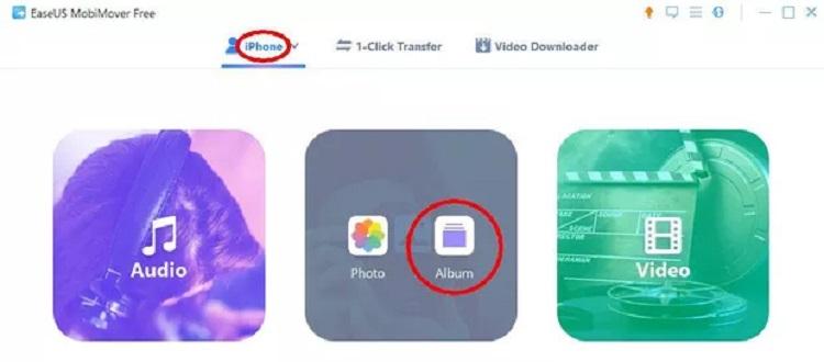 انتقال عکسهای آیفون به کامپیوتر