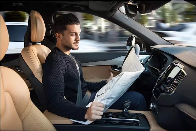 ولوو تا سال 2021 خودروی خودران XC90 را عرضه خواهد کرد که راننده می تواند در آن چرت بزند