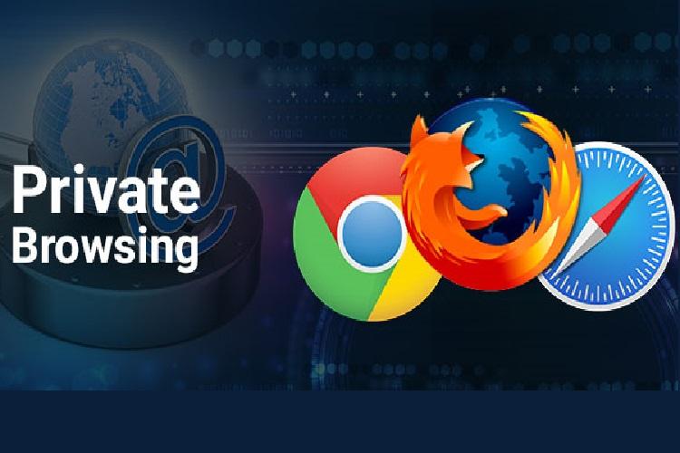 فعالسازی حالت مرور خصوصی در کروم، اج و فایرفاکس