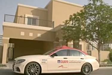 راهاندازی سرویس تاکسی خودران در دوبی