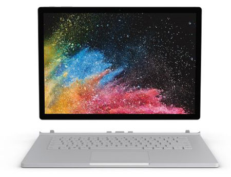 10. Microsoft Surface Book 2 (13.5-inch)