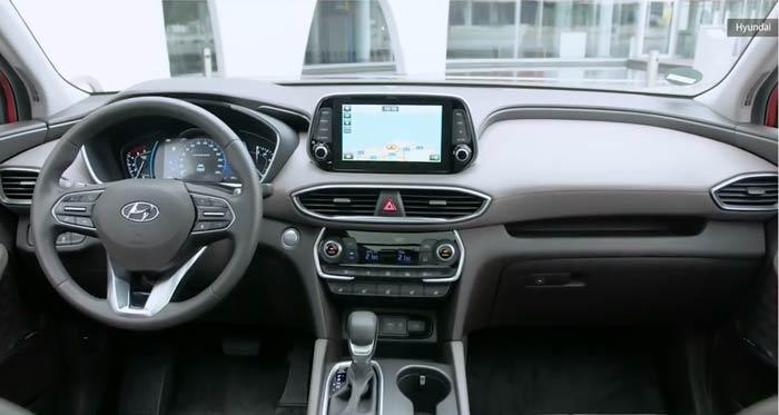 قفل جدید خودروی هیوندا سانتافه
