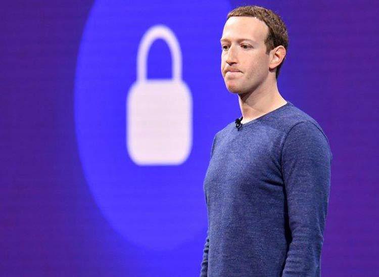 زاکربرگ مدیر عامل فیس بوک