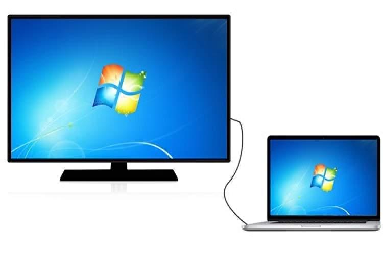 آموزش راههای اتصال لپتاپ به تلویزیون