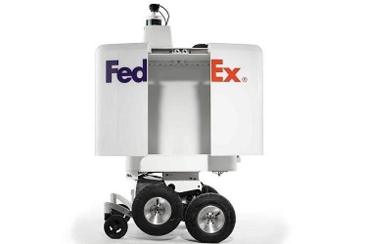 FedEx از ربات تحویل خودران رونمایی میکند + همراه با ویدیو