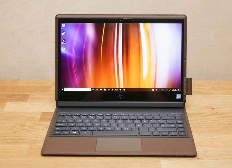 HP Spectre Folio Convertible 13 - حدود 645 دقیقه