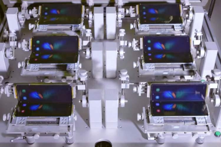 گوشی تاشوی سامسونگ را 200 هزار بار تا کنید + ویدیو