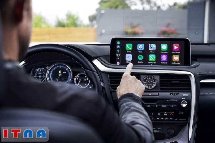 استفاده همزمان از سیستم اپل و گوگل در خودروی جدید لکسوس