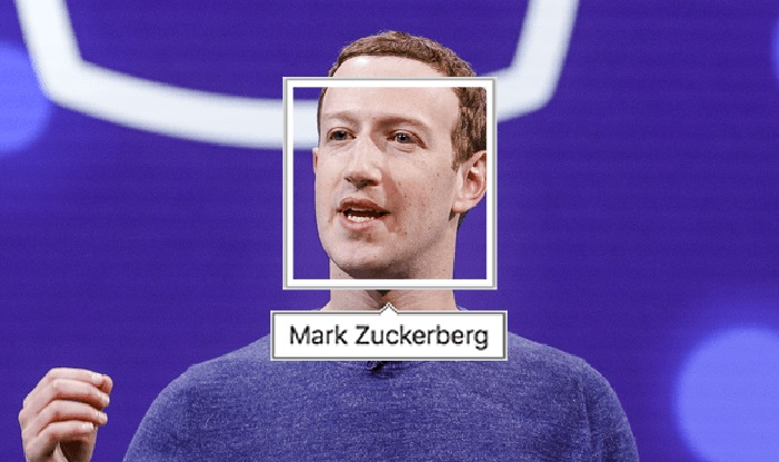 تشخیص چهره فیس بوک