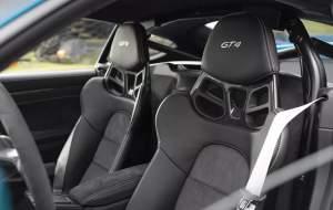 پورشه 718 کیمن GT4 2020، غرشی بلندتر در پیست