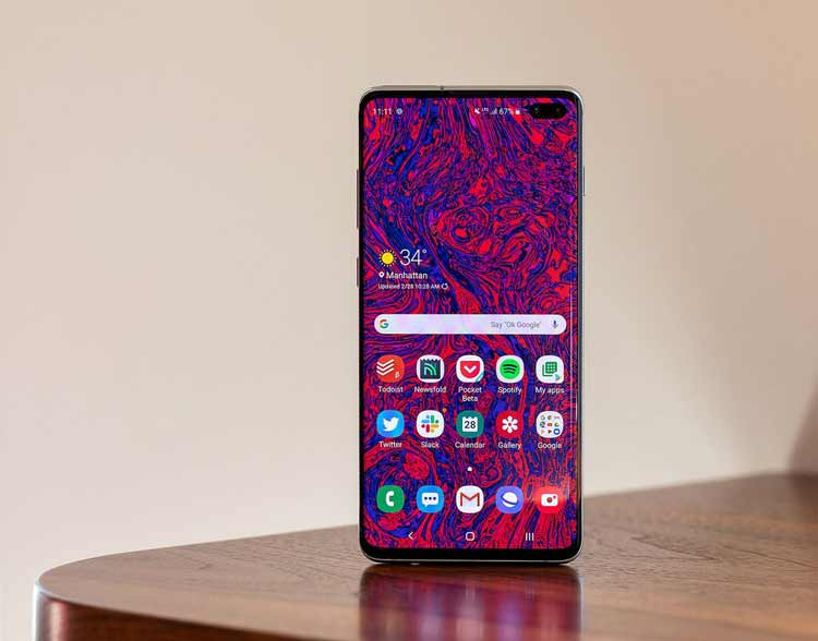 1. Samsung Galaxy S10 Plus