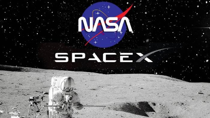 انتخاب اسپیس اکس توسط ناسا برای ارسال بار به مدار ماه