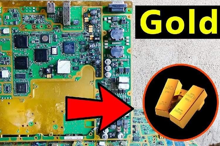 كشف روش جديد استخراج طلا از زباله هاي الكترونيكي