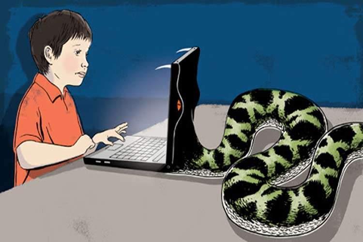 چیزهایی که کودکان در دنیای مجازی پنهان میکنند