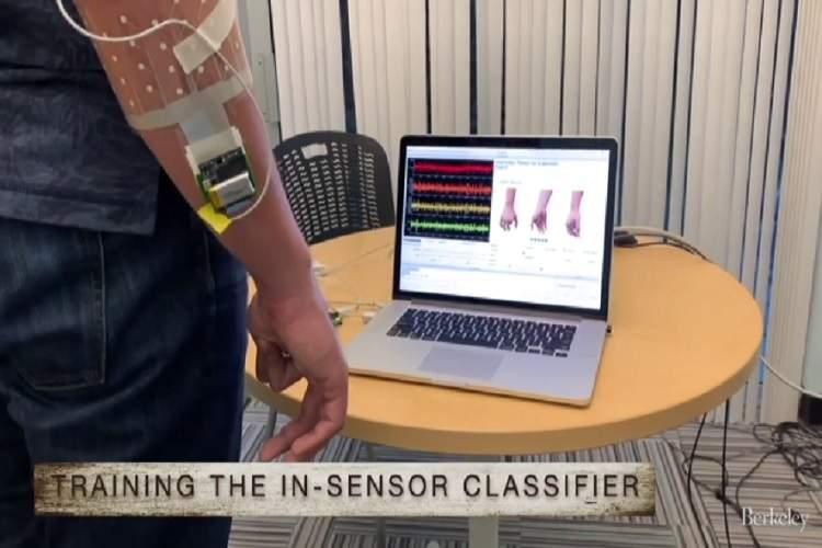 دستگاهی که میتواند اشارات دست را تشخیص دهد