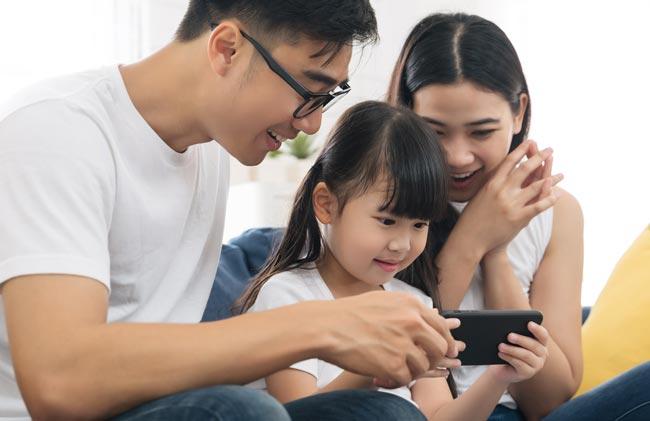 انتخاب گوشی هوشمند برای کودکان