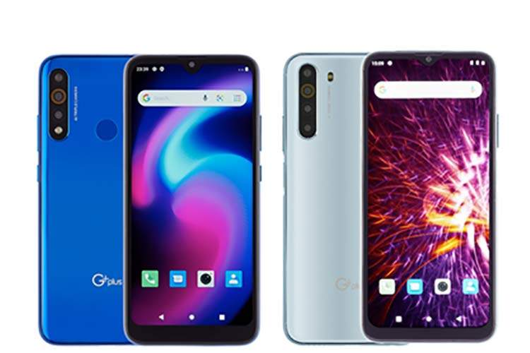 خرید گوشی جی پلاس p10 و جی پلاس x10 از اوبو