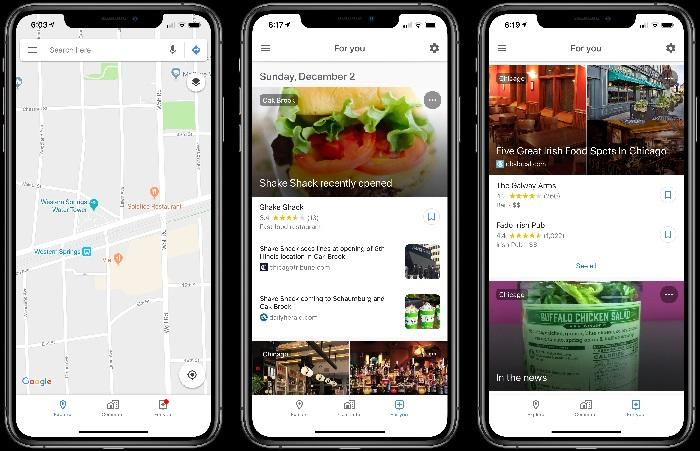 نقشه گوگل برای کاربران iOS